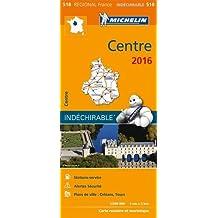 Carte Centre 2016 Michelin
