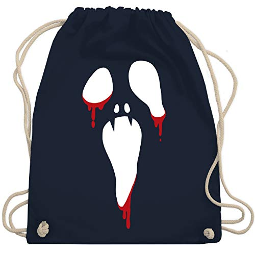 alloween - Unisize - Navy Blau - WM110 - Turnbeutel & Gym Bag ()