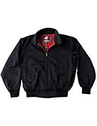 Original Warrior Vêtements Veste Harrington Noir