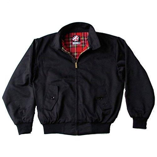 Originale Warrior Abbigliamento Giacca Harrington nero Black X-Large