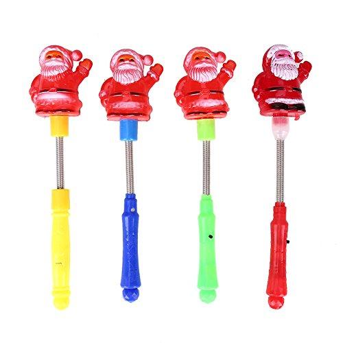 ender Steuerknüppel, Weihnachtsled-Spielzeug-Neuheit Santa Claus Ornaments Halloween Spielzeug für Baby / Kinder ()