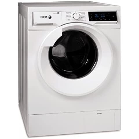 Fagor F-8314 Independiente Carga frontal 8kg 1400RPM A+++ Color blanco - Lavadora (Independiente, Carga frontal, A+++, B, Color blanco,