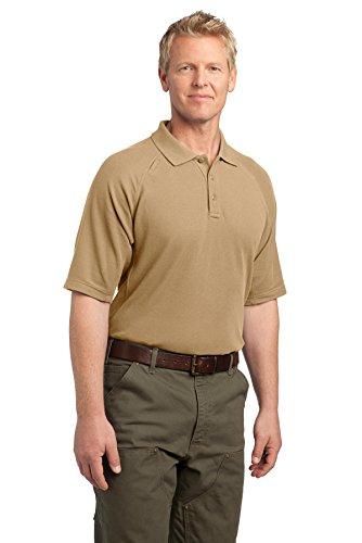 Eckpfeiler EZCotton Tactical Polo Shirt Hellbraun
