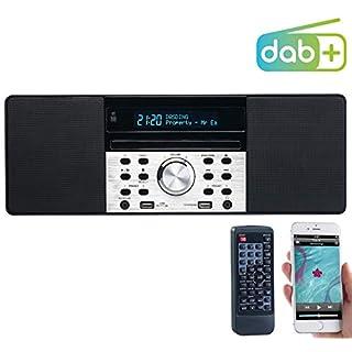 VR-Radio DAB Radio: Digitalradio mit DAB+, FM, Bluetooth, CD, Audio-Player, USB-Port, 60 W (DAB Radio Bluetooth)