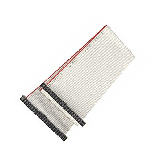 Preisvergleich Produktbild adaptare 49102 IDE-Flachbandkabel (20 cm (2,5 Zoll), 44-polig, Buchse auf Buchse)