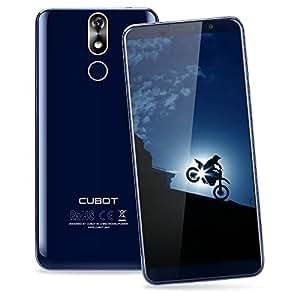 Cubot Power SmartPhone 4G, 5.99 Pollici (18:9) FHD+ Schermo Android 8.1 Telefono Cellulari, Octa-Core MT6763T 2.5GHz , 6GB RAM + 128GB ROM, 20MP+13MP Camera, 6000mAh Batteria, Smartphone Dual Sim,Fingerprint Sensor,Wifi,GPS Cellulare - Blu
