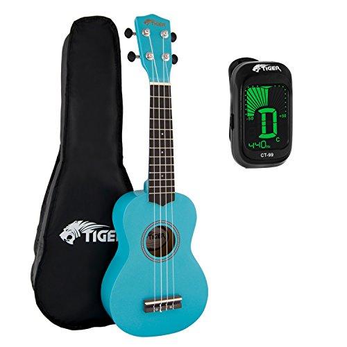 tiger-beginners-soprano-ukulele-in-blue-blue-ukulele-pack-including-gig-bag-and-clip-on-tuner