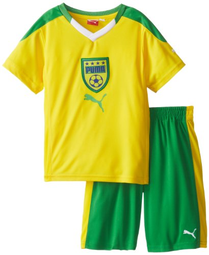 Puma Little Boys Country Perforated Set Cyber Yellow