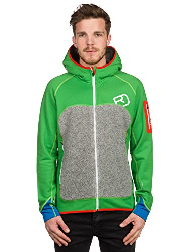 Ortovox Herren Hoody Fleece Plus absolute green