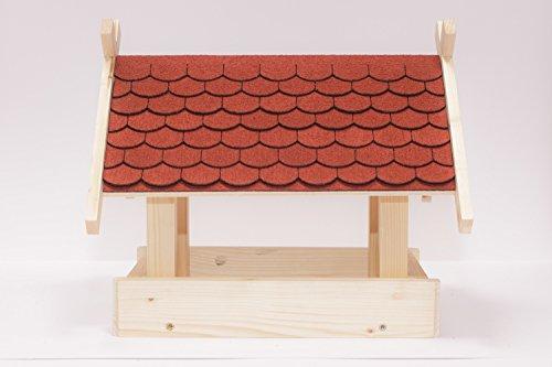 Vogelhaus Bausatz (Klein) - Rot