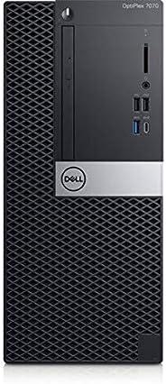 جهاز كمبيوتر مكتبي اوبتيبليكس 7070 من ديل، معالج انتل كور i5-9500، ذاكرة RAM سعة 8 جيجا، هارد ديسك 1 تيرا، صند