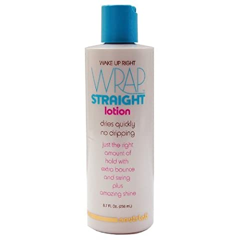 Wake Up Right Wrap Straight Lotion 8.7oz (New Black N Sassy Bounce N Swing Wrap Lotion) by Neutrlab