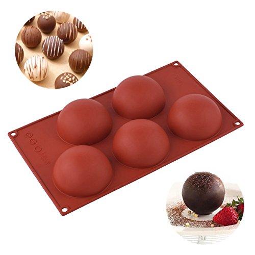 Inovey 5 Kavität Silikon Brot Kuchen Schokolade Fond Form Mousse Gebäck Backen Werkzeuge
