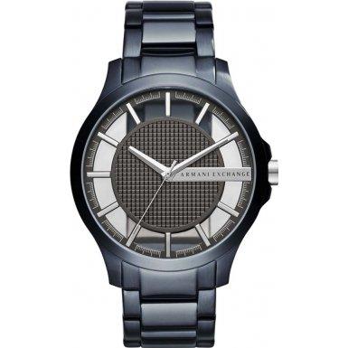 Armani Blau Exchange Uhren (Armani Exchange Herren-Armbanduhr Quarz One Size, blau, grau)