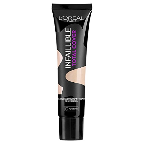 Total Finish Foundation (L 'Oreal Paris Indefectible Total Cover Foundation)