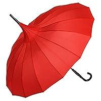 VON LILIENFELD® Umbrella Women Pagoda Parasol Wedding Charlotte