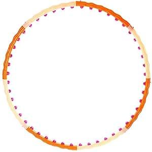 Hoopomania Magnetic Hoop, Hula Hoop mit 48 Magneten 1,2kg