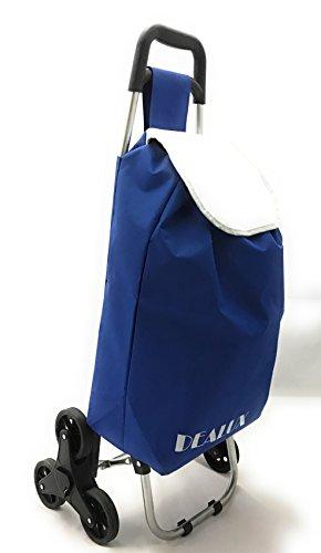 Carrello Shoppy Tris Blu Dealux Con Sei Ruote