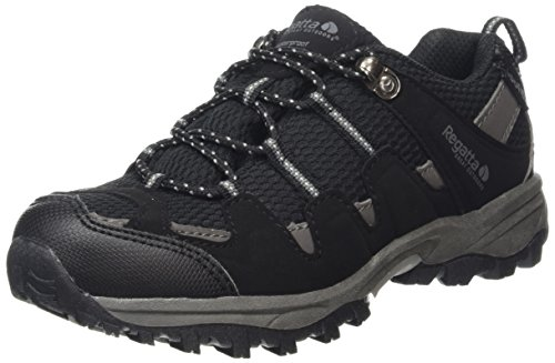 regatta-garsdale-jnr-boys-low-rise-hiking-shoes-multicolor-black-granite-3-child-uk-36-eu
