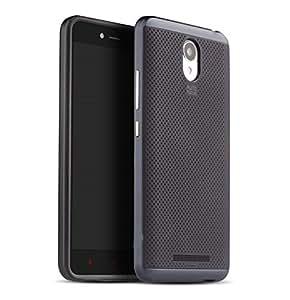 ProElite Soft Hybrid Back case cover for Xiaomi Redmi Note 3 - Grey