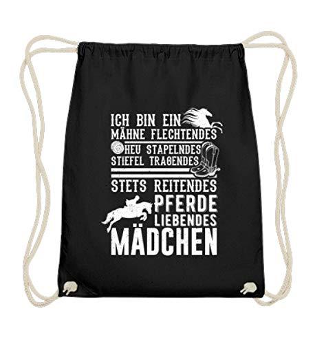 Chorchester Perfekt für reitende Pferde-Mädchen - Baumwoll Gymsac -