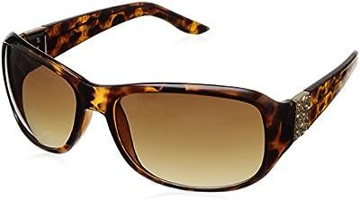 Guess - Gafas de sol Ovaladas GU6395, GU6395_S57 Tortoise & Brown