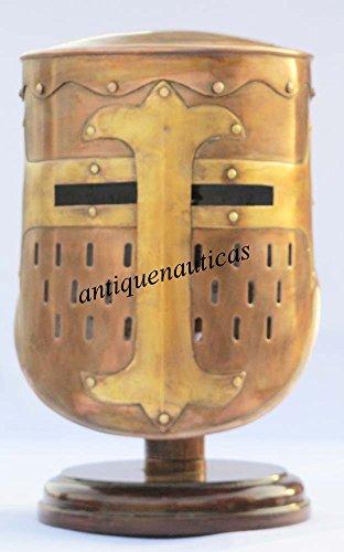 Shiv Shakti Enterprises Antiker Offizier Centurion Historischer Ritterhelm Rüstung Mittelalter New Halloween
