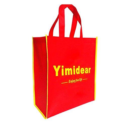 Yimidear borsa portafoglio donna in PU impermeabile a spalla corpo croce a mano beige