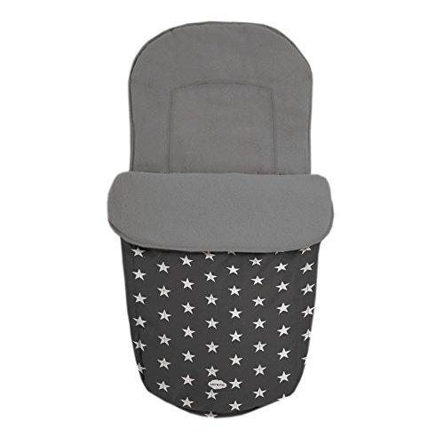 Baby Star 25481 - Saco para silla universal, color gris