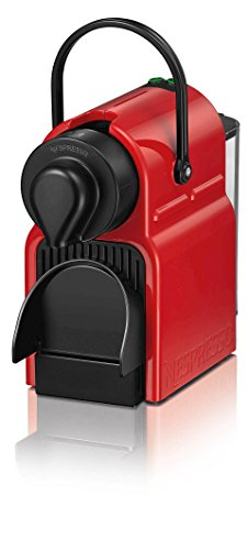Krups Nespresso Inissia Coffee Capsule Machine – Ruby Red