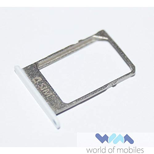 -A500FU Galaxy A5 Sim Halter Schlitten Kartenhalter, Card Holder Tray, Weiss, white ()