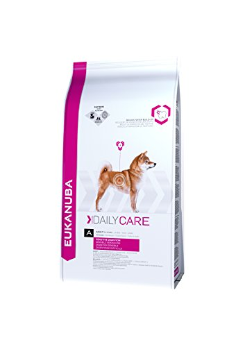 Eukanuba Daily Care Adult Dry Dog Food Sensitive Digestion - 12.5 kg, Chicken