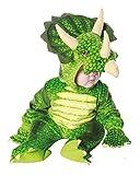 Horror-Shop Dreihorn Dino Kinderkostüm Grün M