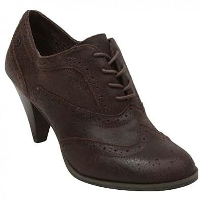 GH Bass & Co Glenda Femmes Marron Cuir Chaussures Bottes Pointure EU 36