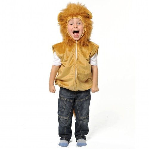 (Lion Cape - One Size 3 - 7 years)