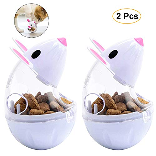 VIKEDI Snackball Katze, Intelligenzspielzeug Für Katzen,Katzenspielwaren,Haustier Katze...