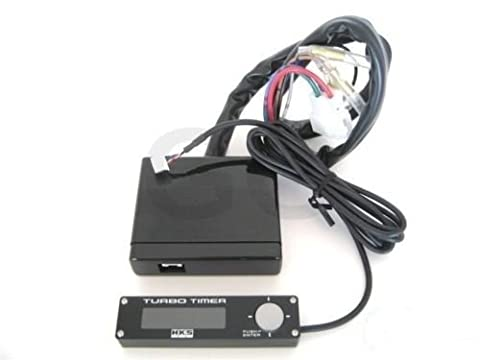 HKS TYPE 1 TURBO TIMER Electric Black White LCD 41001-AK010