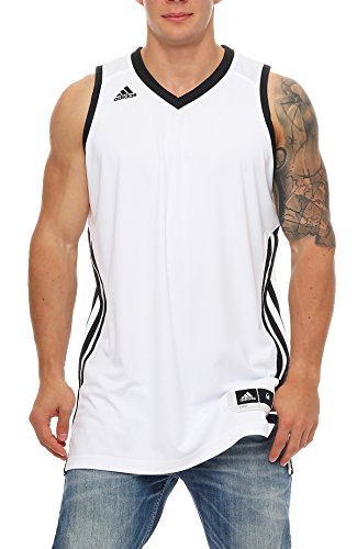 Basketball Sleeveless E Kit2.0 JER Weiß Schwarz WHITE/BLACK 2XT