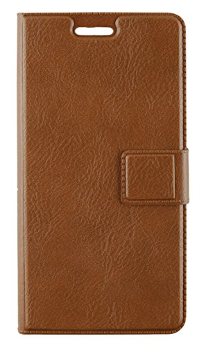 For Xiaomi Redmi 3S Prime, Dekkin Leather Series With Magnet Lock Flip Cover Stand Back Case Cover For for Xiaomi Redmi 3S Prime ( Brown )