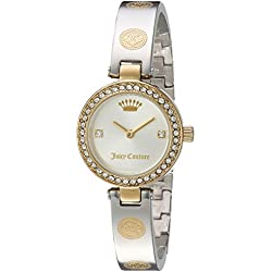 Juicy Couture Women's 'CALI BANGLE' Quartz Stainless Steel Casual Watch, Color:Two Tone (Model: 1901531)