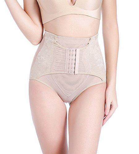 DOODING Frauen Waist Trainer Korsett Shapewear Taille Cincher Butt Lift Tummy Control Panty Körper-Former Bauch Weg (Körper-enhancer Und-former)
