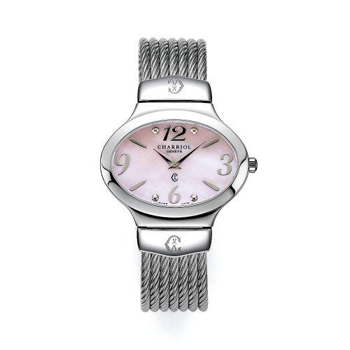 charriol-darling-oval541ov001-reloj-de-mujer-de-cuarzo-correa-de-acero-inoxidable