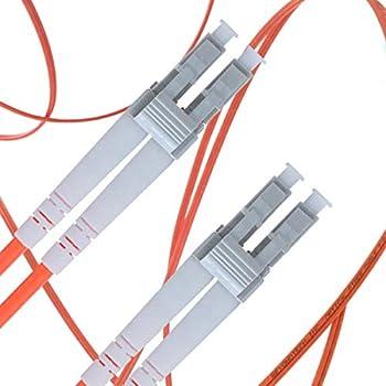 LSZH UPC//UPC - Cordon de Brassage Fibre Optique Beyondtech Jarreti/ère Optique Multimode LC /à LC 20M Multimodale Duplex S/érie C/âble PureOptics 50//125um OM3 10G