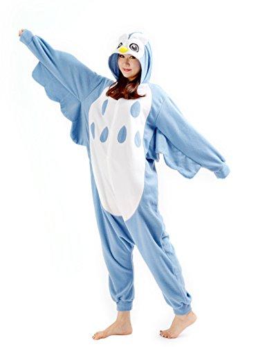 Imagen de darkcom  disfraz de animal unisex para adulto sirve como pijama o cosplay sleepsuit de una pieza búho