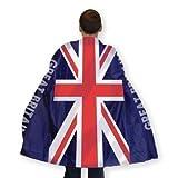 Grande Bretagne Union Jack Déguisement Cape pour adulte