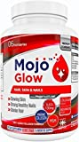 MOJO™ GLOW - Hair Skin & Nails Supplement | Anti Ageing Formula With MSM, Vitamin C, Collagen, Silica | Anti Wrinkle & Hair Growth Vitamin For Men & Women + Money Back Guarantee
