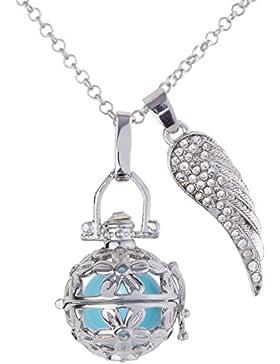 Kossberg Damen Halskette Engelskette Flügel 55863 versilbert