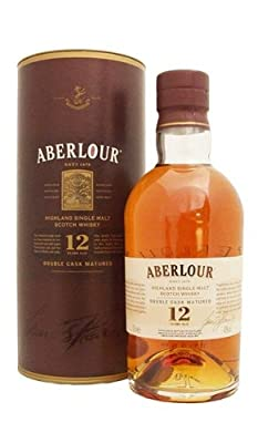 Aberlour 12 Year Old Double Cask Matured 43% Single Malt Whisky