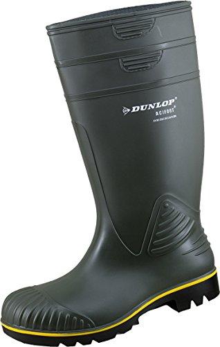 "1909/P Dunlop Gummistiefel Acifort""Non Safty"" oliv"