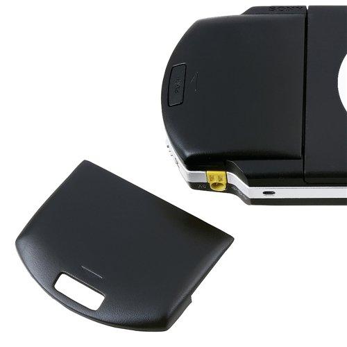 Schwarz AKKU DECKEL Akkufach Batterie Schale Cover für Sony PSP 1000 1004 Neu (Psp Neu Sony)